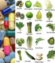 vitamin pills vs veggies 225
