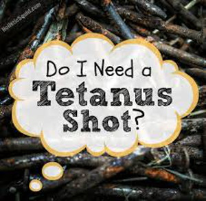Tetanus vaccination risks