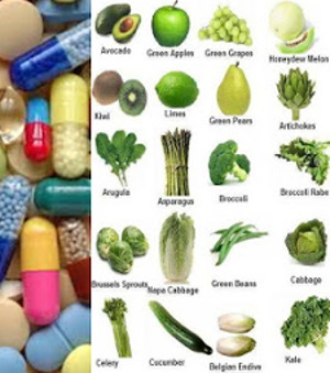 Multi vitamins vs a variety of fresh fruit and veg
